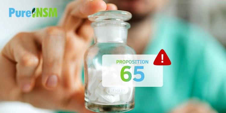 Proposition 65 - Purensm