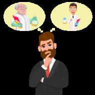 cartoon thinking image