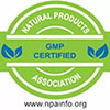 GMP Certified label
